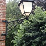 Historisierende Laterne als Lichtquelle