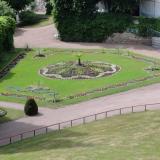Teppichbeet im Garten von Altenstein /Thüringen